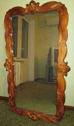 Зеркало деревянное недорого в хорошом состоянии