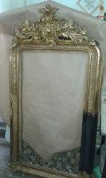 зеркало антикварное в позолоте